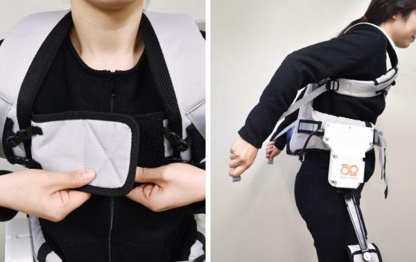 肩ベルトの長さを調整